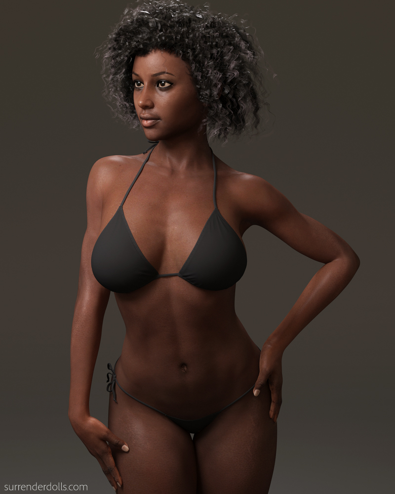 Iray Monique 7 Free Skin MAT Preset